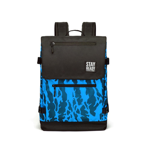 Cool Camouflage Backpack (Blue)
