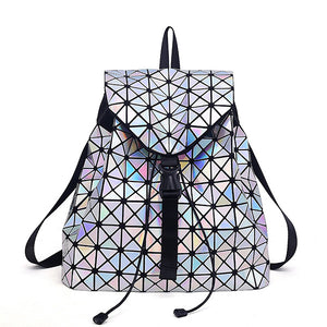 Holographic Backpack (Laser Silver)