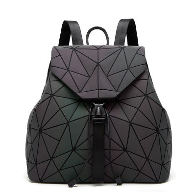Holographic Backpack (Colorful Irregular)