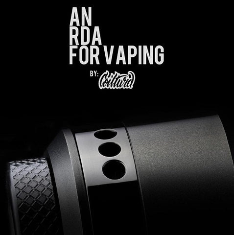 An RDA for Vaping by Coilturd - The Geelong Vape Co.