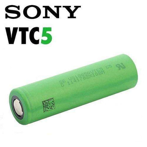 Sony VTC5 18650 2600 mAh Battery - Geelong Vape Co.