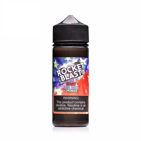 Rocket Blast (Straw Blue Razz Lemonade) by GrimmGreen