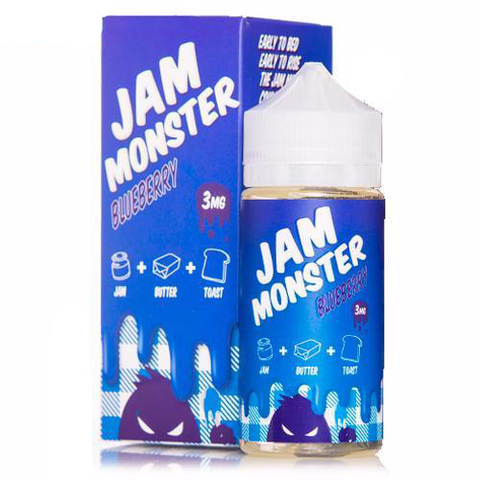 Blueberry Jam - Jam Monster - Geelong Vape Co.