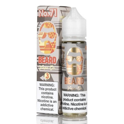 Sweet and Sour Sugar Peach No. 71 120ml by Beard Vape Co