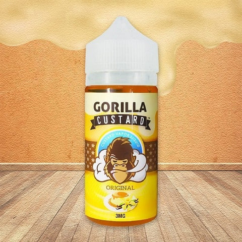 Original Gorilla Custard - Geelong Vape Co.