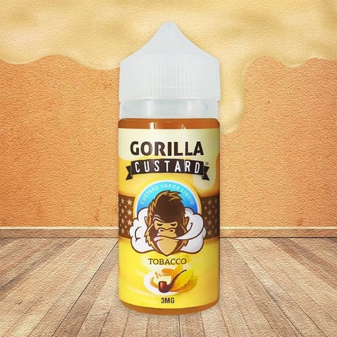 Tobacco Gorilla Custard - Geelong Vape Co.