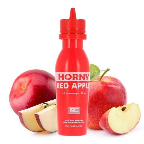 Horny Red Apple - Horny Flava - Geelong Vape Co.