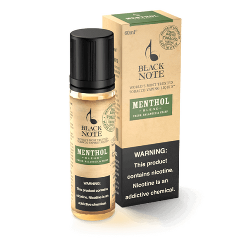 Black Note Menthol SOLO 60ml Small Batch Tobacco
