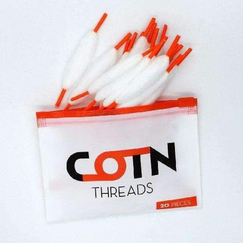 COTN Threads - Pre Made Cotton - Geelong Vape Co.