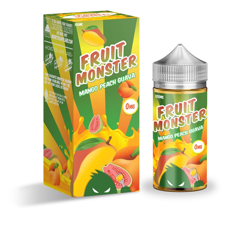 Mango Peach Guava - Fruit Monster - Geelong Vape Co.