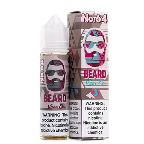 Blue-Razz Hibiscus Twist No. 64 120ml by Beard Vape Co