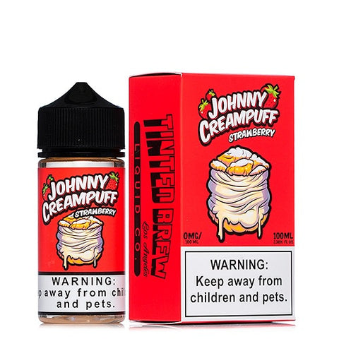 Strawberry Johnny Creampuff - Geelong Vape Co.