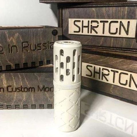 SHRTGN 21700 Mech Mod - Russian Custom Mods - Geelong Vape Co.