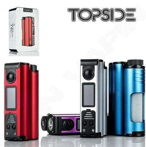DOVPO Topside 90W Squonk - with spare bottle - The Geelong Vape Co.