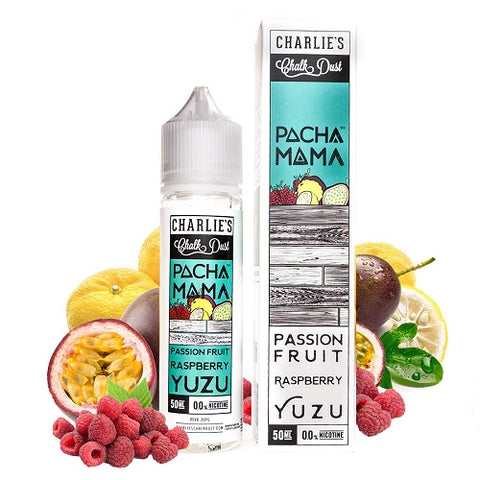 Passionfruit Raspberry Yuzu - Pacha Mama - The Geelong Vape Co.