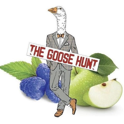 The Goose Hunt LVA Fundraiser E-Liquid - Blue Apple