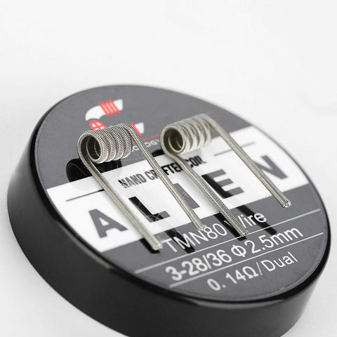 Coilology Twisted Messes Alien Coils - Geelong Vape Co.