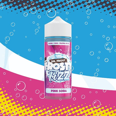 Pink Soda - Dr Frost Frosty Fizz - Geelong Vape Co.