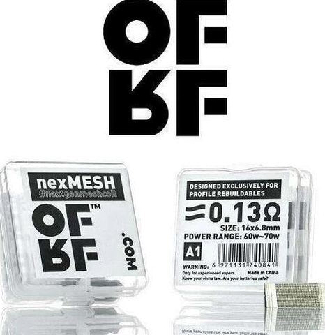 OFRF nexMESH 0.13 ohm Replacement Coils - Geelong Vape Co.