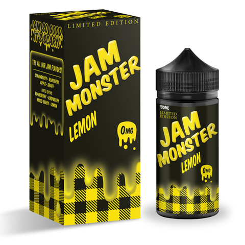Lemon Jam (Limited Edition) - Jam Monster - Geelong Vape Co.
