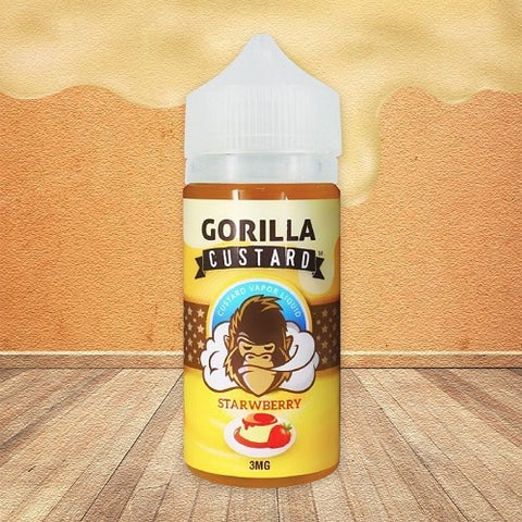 Strawberry Gorilla Custard - Geelong Vape Co.