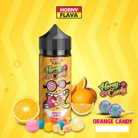 Orange Candy - Horny Flava - The Geelong Vape Co.