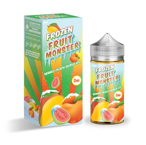 Mango Peach Guava ICE - Frozen Fruit Monster