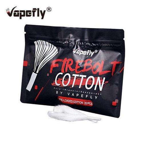 Firebolt Cotton - 20 pieces - Geelong Vape Co.