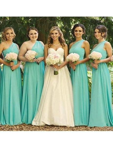 Handmade Bridesmaid Dress,Simple Bridesmaid Dress,Pretty Bridesmaid Dress , A-line Bridesmaid dress ,PD100