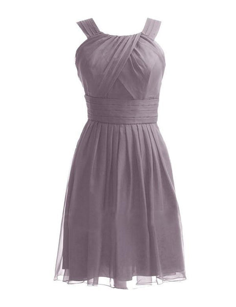 A-line Bridesmaid Dress,Knee-length Bridesmaid Dress,Pretty Bridesmaid Dress,Charming Bridesmaid dress ,PD128