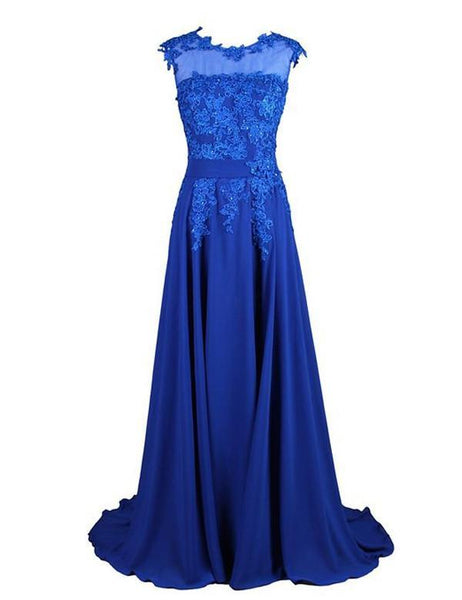 Timeless Bridesmaid Dress, Royal Blue Bridesmaid Dress,Pretty Bridesmaid Dress,Charming Bridesmaid dress ,PD148