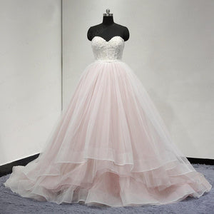 Sweetheart wedding dress Lace Up Back Charming Affordable Long Prom Dresses Ball Gowns,HS166
