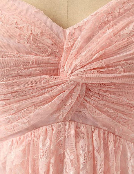 Custom bridesmaid dress,Sweetheart bridesmaid dress, Cute bridesmaid dress ,Pink Bridesmaid dress, ,PD78