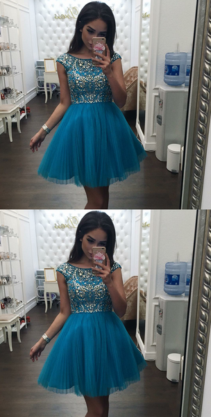 Beaded Short Homecoming Dresses Elegant Short Homecoming Dresses