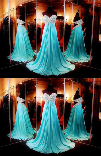 Gorgeous Prom Dress,Sweetheart Prom Dress,Open Back Prom Dress