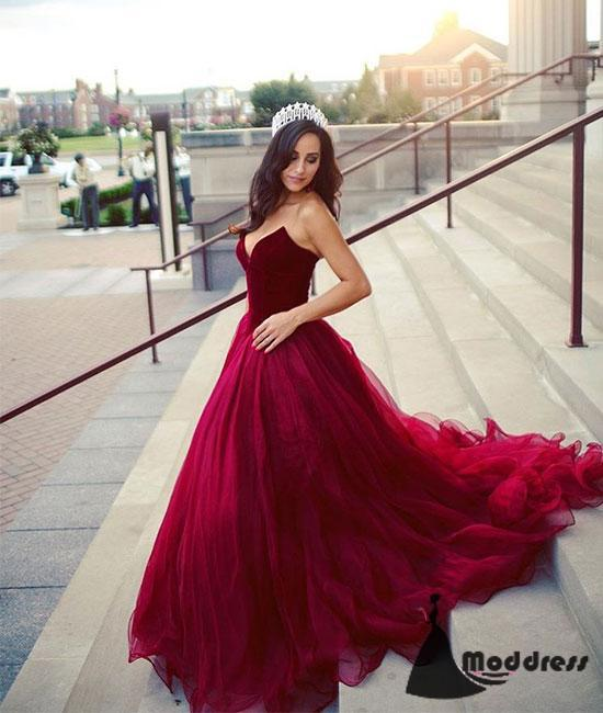 Two Pieces Long Prom Dresses Pink Homecoming Dresses Tulle Formal Evening Dresses,HS446