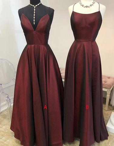 Stylish Long Bridesmaid Dresses A-Line Bridesmaid Dresses Sleeveless Bridesmaid Dresses