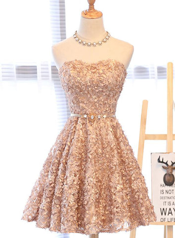 Sweetheart Homecoming Dresses Elegant Prom Dresses A-Line Evening Gowns