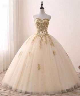 applique wedding dress tulle beading ball bridal gowns long prom dress,HS273