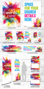 Colour Burst <p> (Your Words)