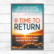 A Time To Return