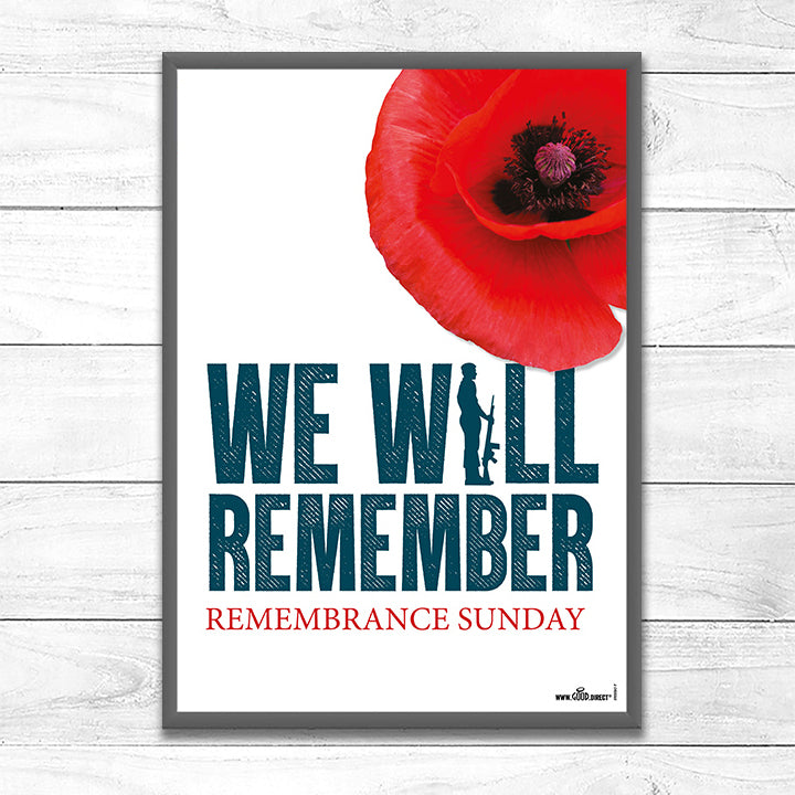 We Will Remember – Soldier