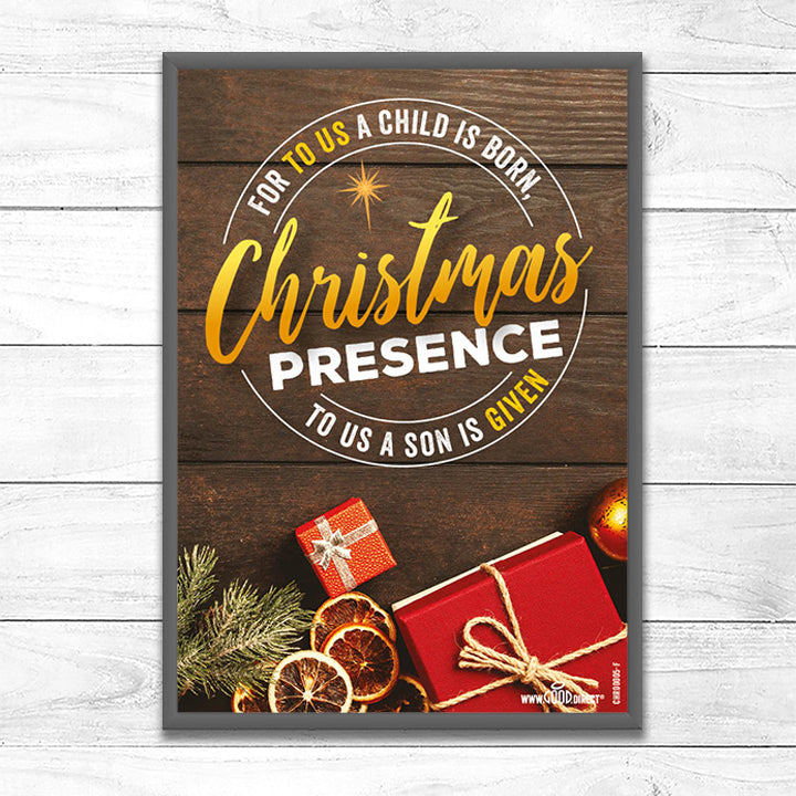 For To Us A Child is Born <p> Christmas Presence