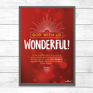 God With Us – 'Wonderful!'