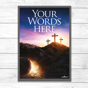 Empty Cross, Empty Tomb <p> (Your Words)