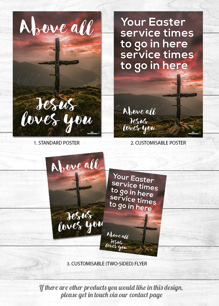 Above All <p> Jesus loves You