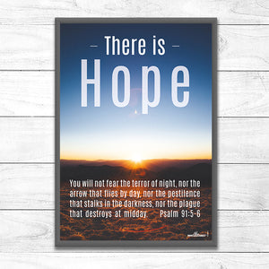 There is Hope <p> not fear