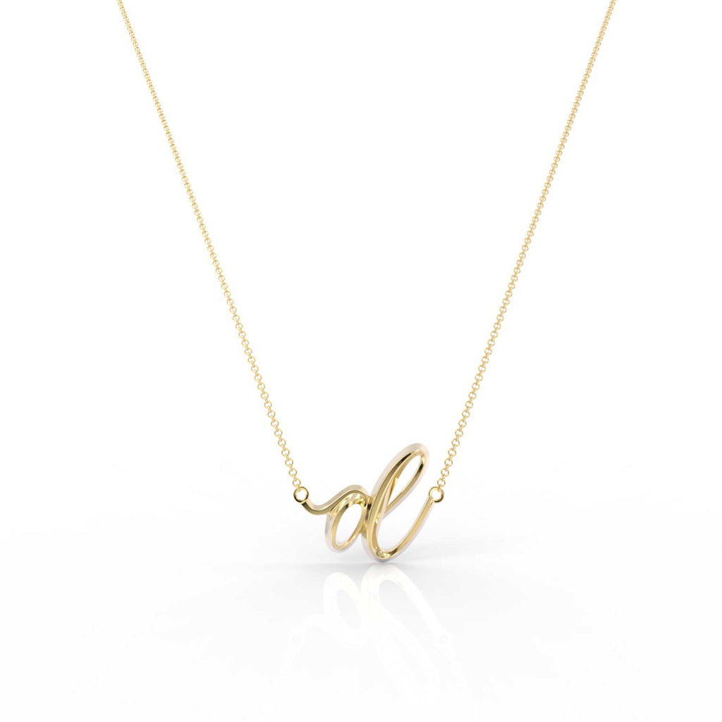 "The Love Collect - ""D"" Necklace"