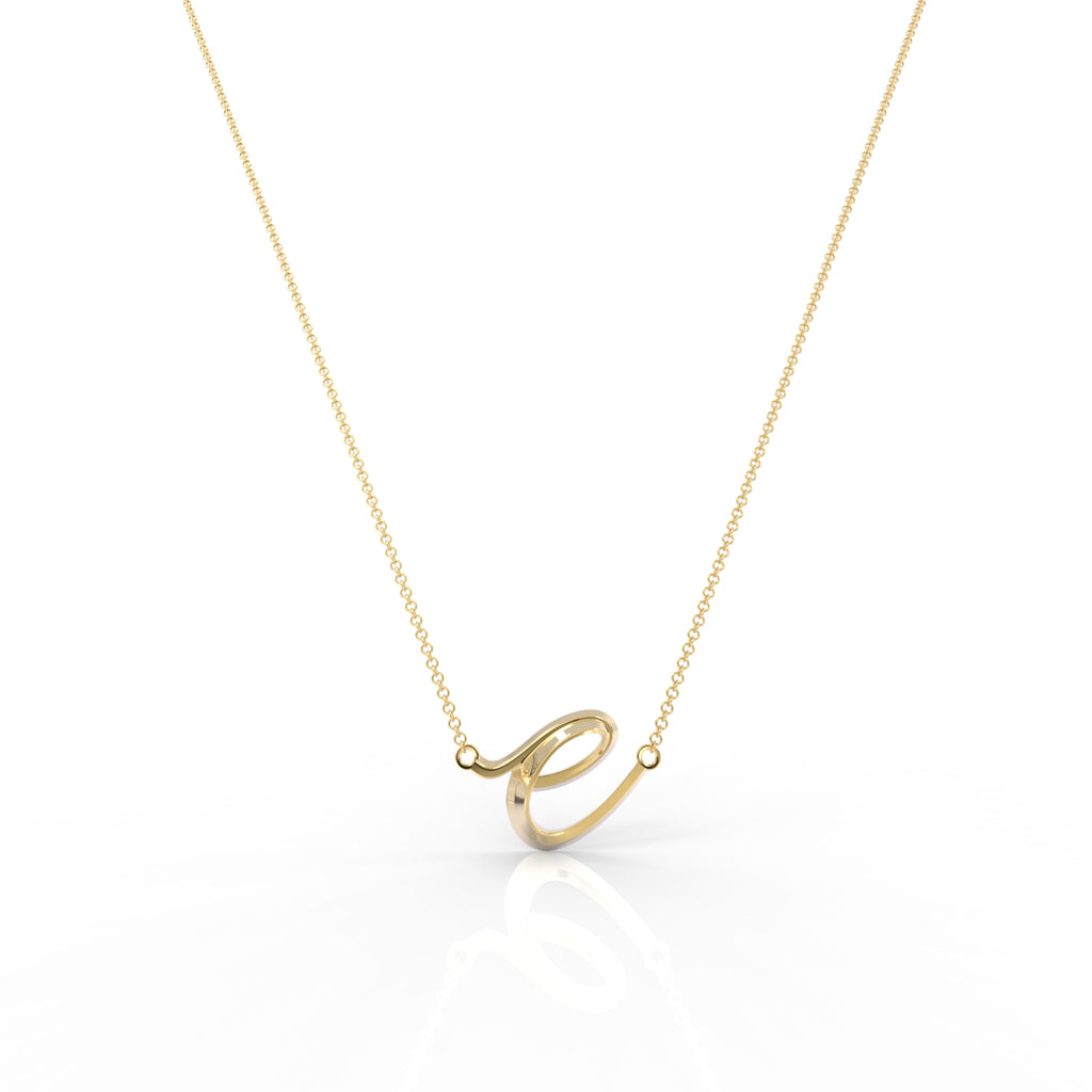 "The Love Collect - ""E"" Necklace"