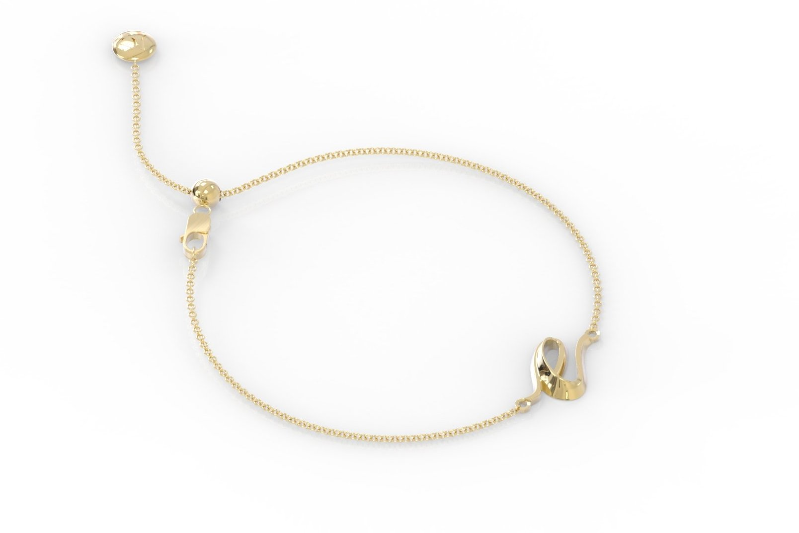 "The Love Collect - ""E"" Bracelet"